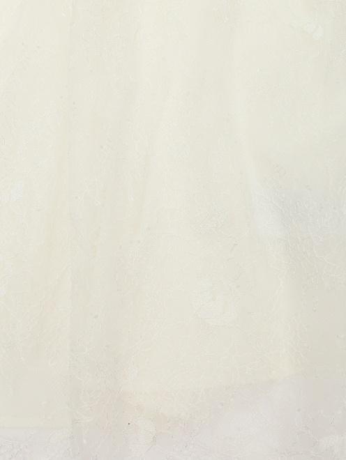 Блуза кружевная, со сборкой - Деталь1