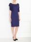 Платье-футляр из смешанного шелка Jil Sander  –  Модель Общий вид