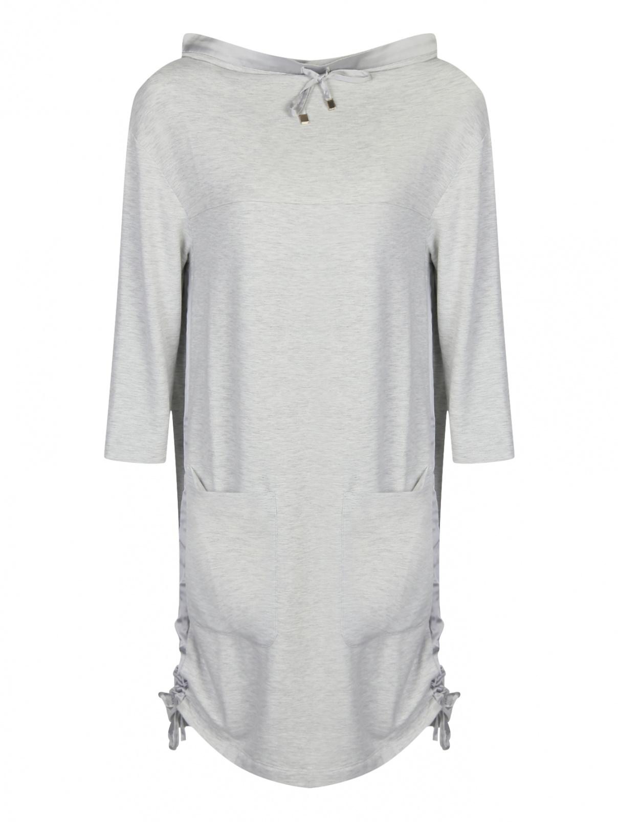 Трикотажное платье свободного кроя Max&Co  –  Общий вид