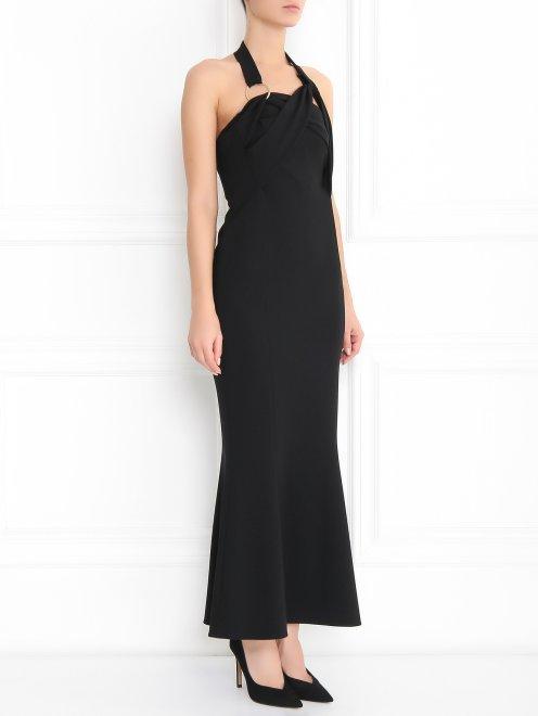 Платье-футляр на бретелях - Модель Верх-Низ