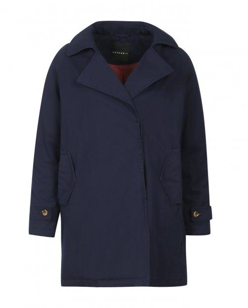 Куртка из хлопка с боковыми карманами - Общий вид
