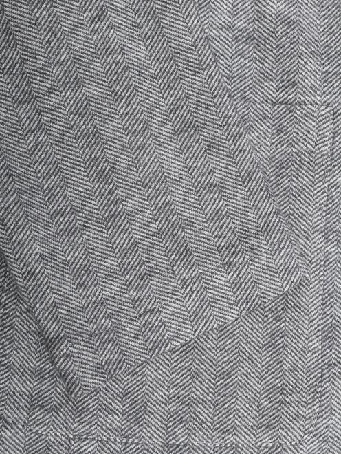 Пиджак однобортный из хлопка и шерсти  - Деталь