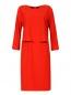 Платье прямого фасона с боковыми карманами Armani Collezioni  –  Общий вид