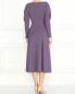 Платье-макси с длинным рукавом из шерсти Mariella Burani  –  Модель Верх-Низ1