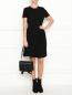 Платье с контрастной отделкой Brooks Brothers  –  МодельОбщийВид