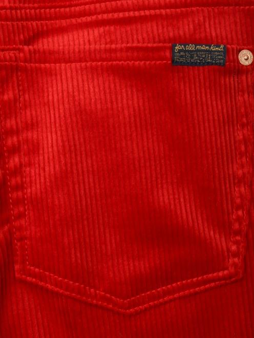 Вельветовые брюки  - Деталь