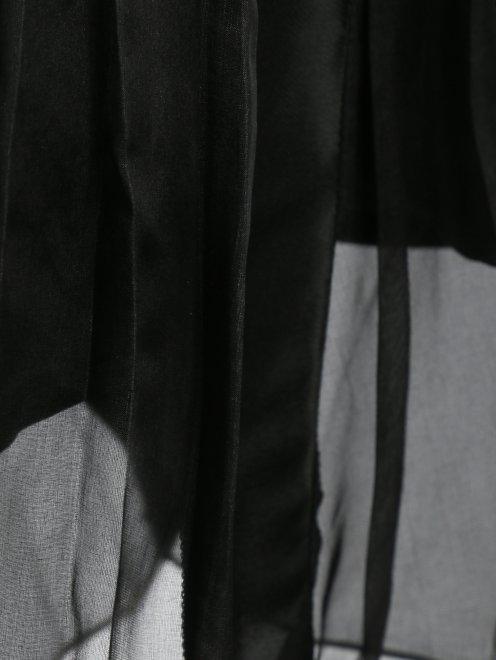 Юбка-мини из шелка - Деталь