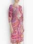 """Трикотажное платье с узором """"пейсли"""" Etro  –  Модель Верх-Низ"""