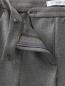 Зауженные брюки на молниях Viktor&Rolf  –  Деталь1