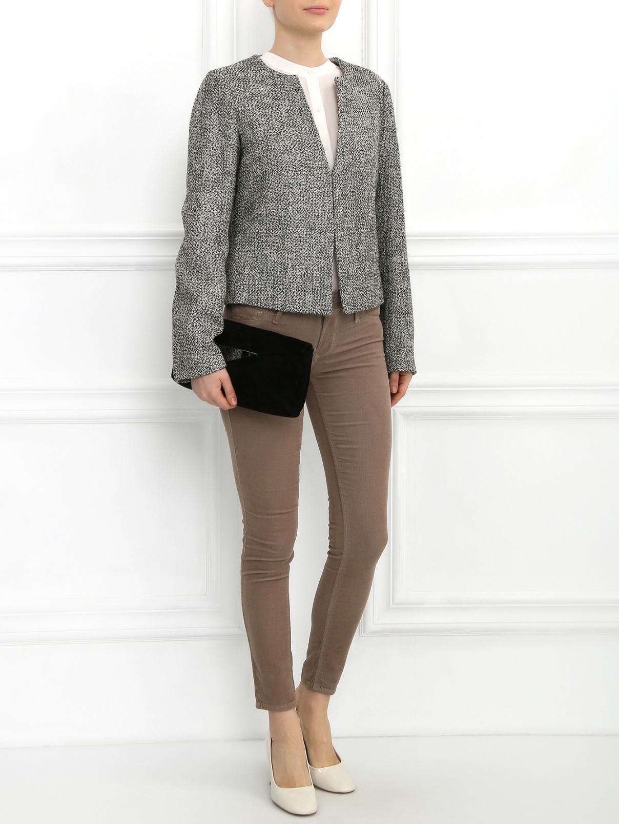 Узкие брюки Black Orchid  –  Модель Общий вид  – Цвет:  Бежевый