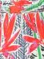 Брюки из шелка свободного кроя на резинке Kenzo  –  Деталь