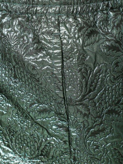 Юбка с люрексом с цветочным узором - Деталь
