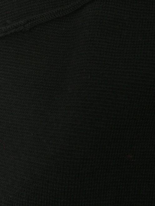 Платье из смешанной шерсти с аппликацией - Деталь1