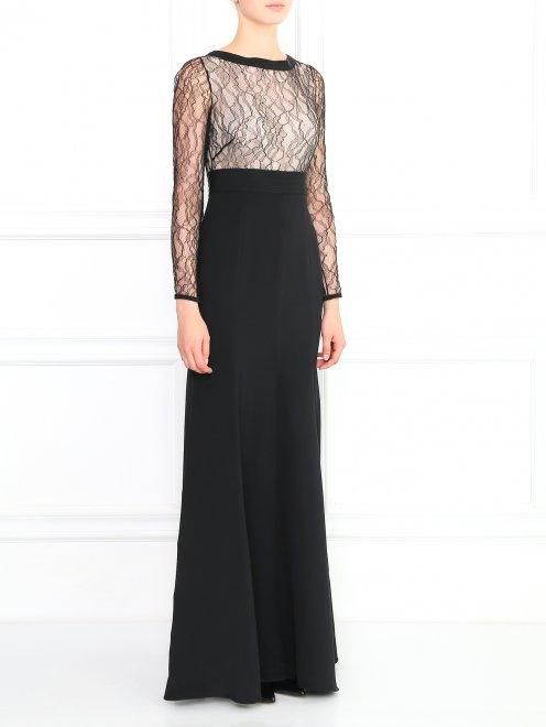 Платье-макси - Модель Верх-Низ