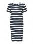 Платье из ткани в полоску Max Mara  –  Общий вид