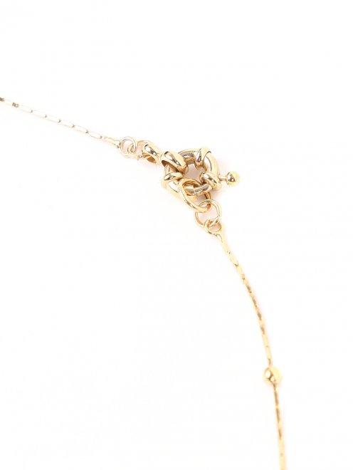 Ожерелье из металла и кристаллов - Деталь1