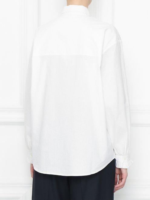 Рубашка из хлопка с кружевной отделкой - МодельВерхНиз1