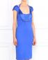 Трикотажное платье-мини на широких бретелях Versace Collection  –  Модель Верх-Низ