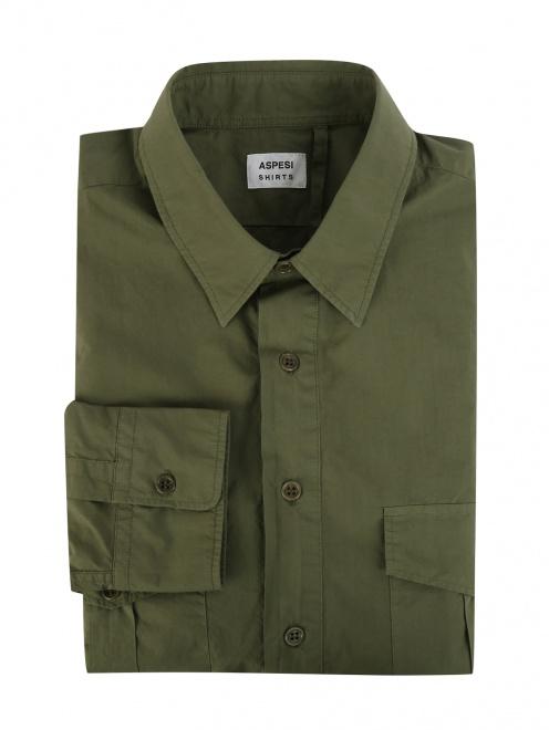 Рубашка из плотного хлопка - Общий вид