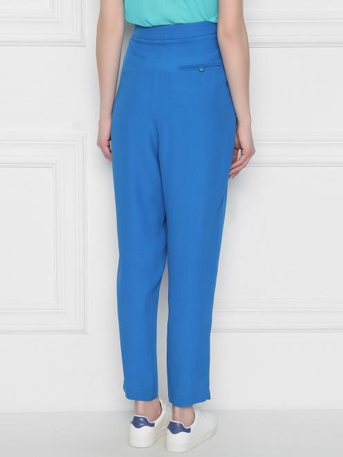 Укороченные брюки прямого кроя - МодельВерхНиз1