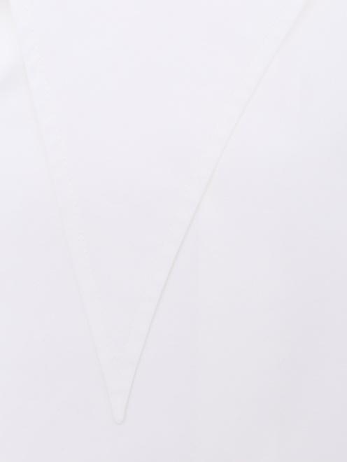 Рубашка из хлопка с декоративным воротом - Деталь