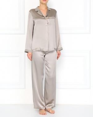 a795aef3edc8d Vivis серая пижама из шелка (9883) купить со скидкой – распродажа в ...