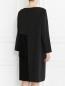 Платье асимметричного кроя с узором Marina Rinaldi  –  Модель Верх-Низ1