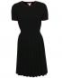 Платье с контрастной отделкой Brooks Brothers  –  Общий вид