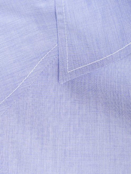 Блуза свободного кроя из хлопка - Деталь1