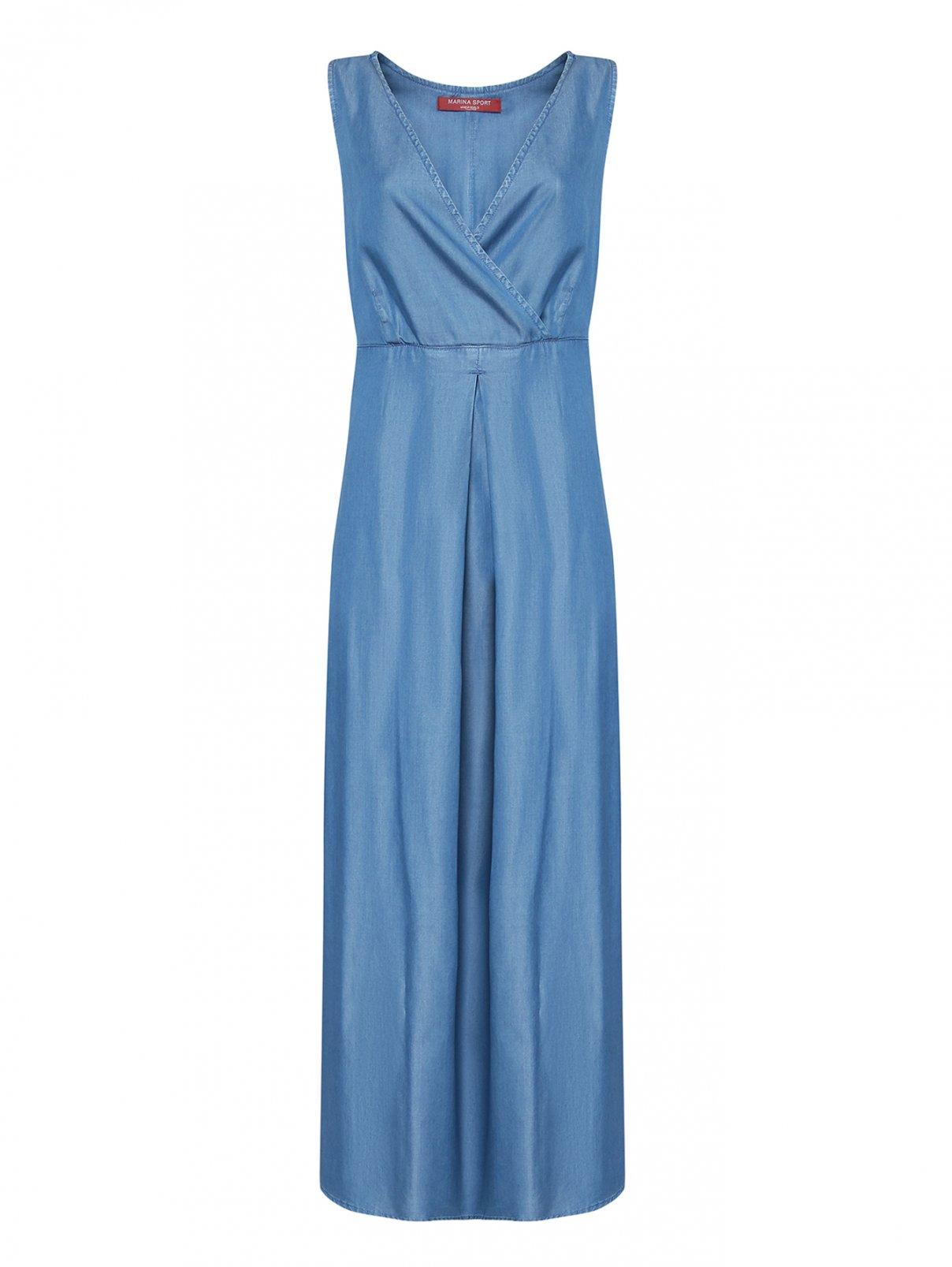 Платье-макси со складкой Marina Rinaldi  –  Общий вид