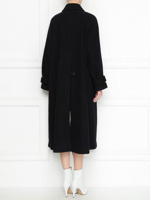 Пальто из шерсти однобортное - МодельВерхНиз1