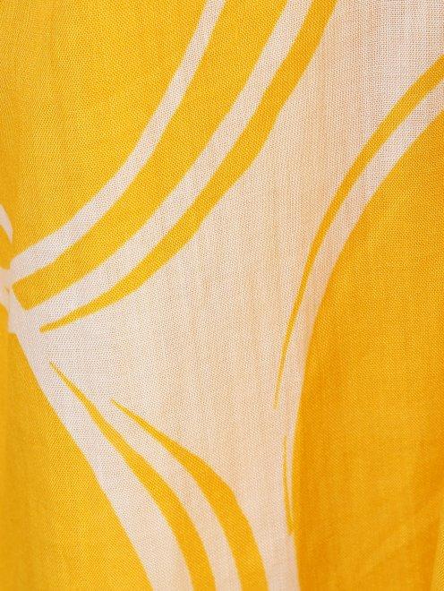 Платье из смесового хлопка свободного силуэта - Деталь1