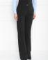 Широкие брюки из шерсти и хлопка с узором Antonio Marras  –  Модель Верх-Низ