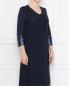 Платье с V-образным вырезом , прямого кроя Marina Rinaldi  –  МодельВерхНиз