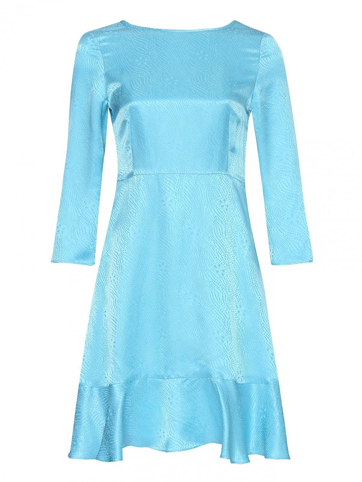 Платье из смешанного шелка с рукавами 3/4 Max&Co  –  Общий вид
