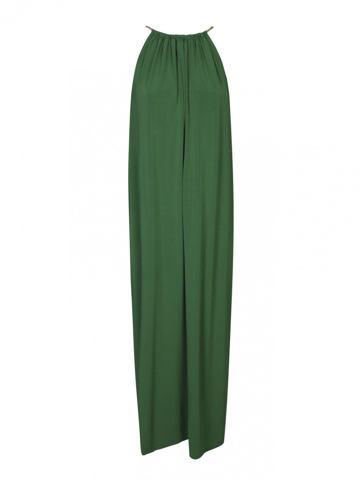 Платье-миди свободного кроя без рукавов Max Mara  –  Общий вид