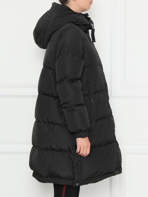 Стеганая куртка оверсайз - МодельВерхНиз2