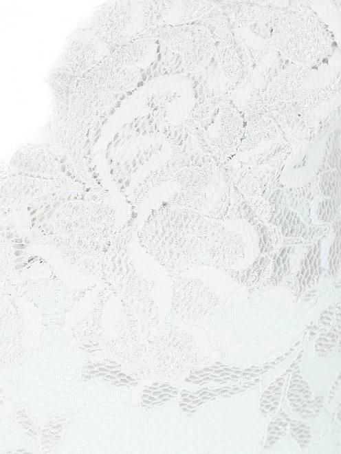 Платье из кружева с короткими рукавами - Деталь