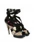 Босоножки из кожи питона на высоком каблуке Barbara Bui  –  Общий вид