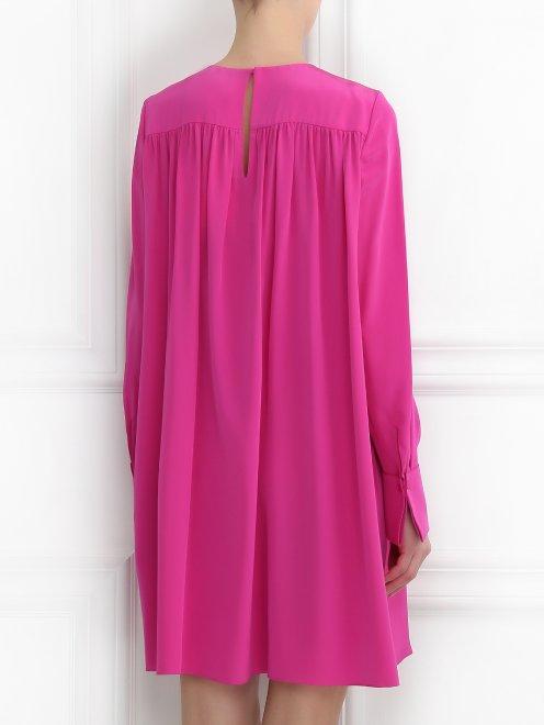 Платье из шелка свободного силуэта - МодельВерхНиз1
