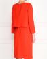 Платье прямого фасона с боковыми карманами Armani Collezioni  –  Модель Верх-Низ1