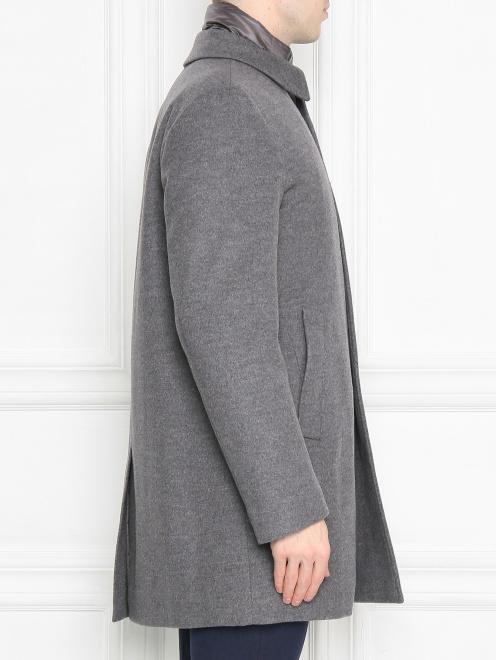 Пальто из кашемира на пуговицах  - МодельВерхНиз2